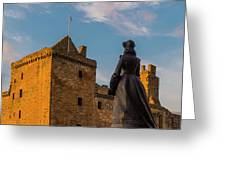 Linlithgow Palace Greeting Card