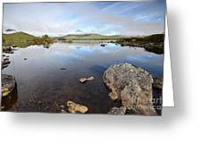 Loch Nah Achlaise Greeting Card