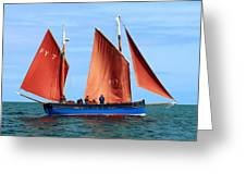 Looe Lugger 'our Daddy' Greeting Card