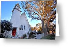 Magnolia Springs Alabama Church Greeting Card