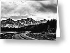 Mammoth Lakes Area Of California Greeting Card