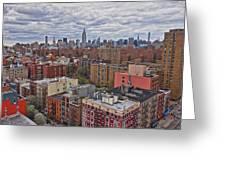 Manhattan Landscape Greeting Card