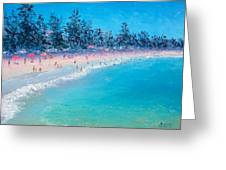 Manly Beach  Greeting Card