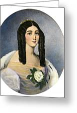 Marie Duplessis Greeting Card