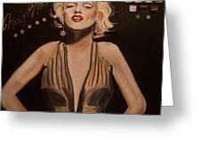 Marilyn Monroe  Greeting Card by Mikayla Ziegler