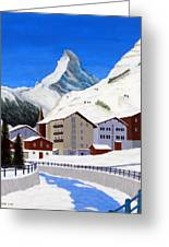 Matterhorn-zermatt Greeting Card