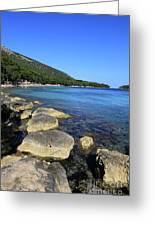 Mediterranean Seascape  Greeting Card