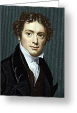 Michael Faraday, British Physicist Greeting Card by Sheila Terry