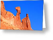 Moab Landscape Greeting Card