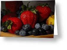 Morning Fruit Greeting Card