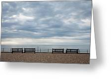 Morning View From Kingsdown Greeting Card