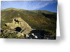 Mount Washington - New Hampshire Usa Greeting Card