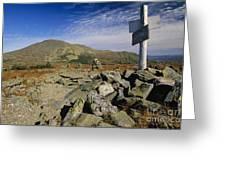 Mount Washington - White Mountains New Hampshire Usa Greeting Card