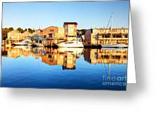 Mystic Seaport Connecticut Greeting Card