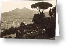 Naples: Mt. Vesuvius Greeting Card