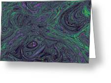 Neural Abstraction #1 Greeting Card