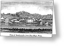 New Jersey, 1844 Greeting Card