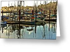 Newport Marina Greeting Card