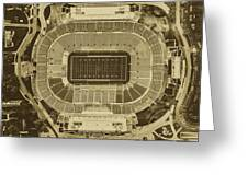 Notre Dame Stadium Greeting Card