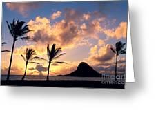 Oahu, Mokolii Island Greeting Card