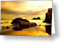 Oil Canvas Landscape Greeting Card