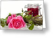 Oil Mixture Of Essential Oils For Aromatherapeutic Use Greeting Card