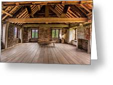 Old House Interior Greeting Card