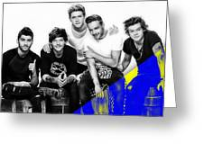 One Direction Collection Greeting Card