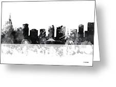 Orlando Florida Skyline Greeting Card