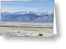 Owens Dry Lake Greeting Card