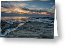 Pacific Grove Sunset Greeting Card