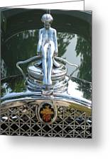 Packard Hood Ornament Greeting Card