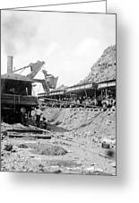 Panama Canal - Construction - C 1910 Greeting Card by International  Images