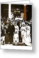 Pancho Villa's Wedding To Luz Corral On May 29 1911-2013 Greeting Card
