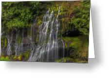 Panther Creek Falls Greeting Card