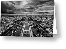 Paris Panorama Greeting Card