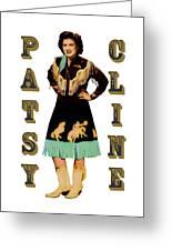 Patsy Cline Greeting Card