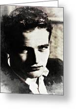 Paul Newman, Actor Greeting Card