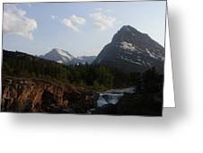 2 Peaks 1 Fall Greeting Card