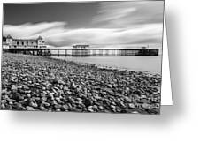 Penarth Pier 5 Greeting Card