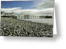 Penarth Pier 6 Greeting Card