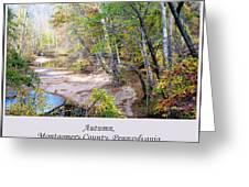 Pennsylvania Autumn Greeting Card