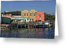Pensacola Bay Greeting Card