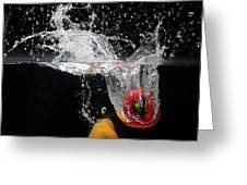 2 Pepper Splash Greeting Card