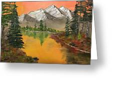 Pine Lake Greeting Card