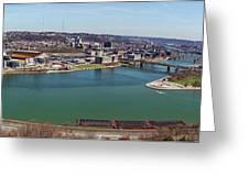 Pittsburgh Panorama Greeting Card