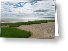 Plymouth, Massachusetts, Beach Greeting Card
