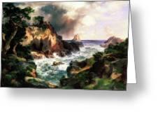 Point Lobos, Monterey, California Greeting Card