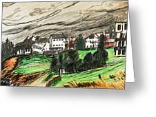 Pontresina Switzerland Greeting Card