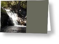 Poplar Stream Falls Greeting Card